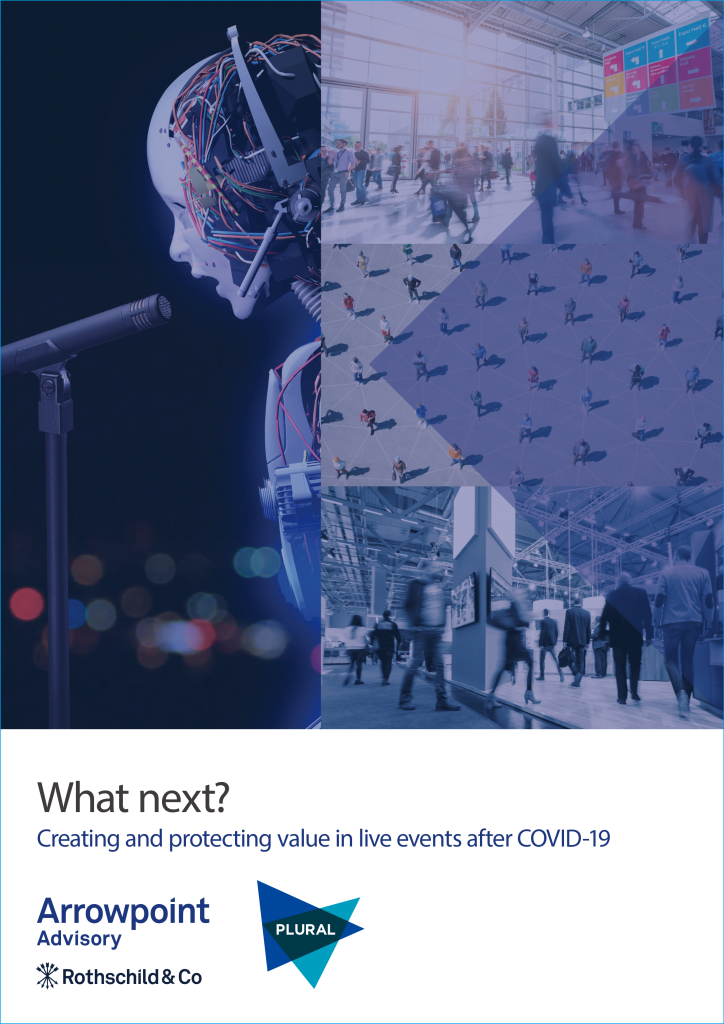 Creating and protecting value in live events after COVID-19
