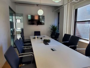 Plural Strategy New York office Boardroom