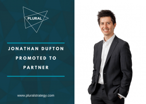Jonathan Dufton Promoted to Partner Plural Strategy