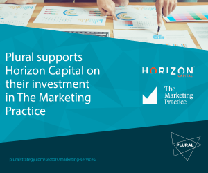 Plural Strategy Deal Announcement Horizon The Marketing Practice